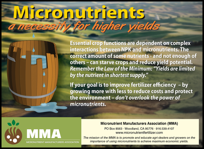 Micronutrient Manufacturers Accociation Print Ad